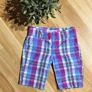 💥3/$25 Girls Roxy Bermuda's Size 8